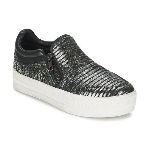 Shoes Women Slip-ons Ash JORDY Grey / Metallic