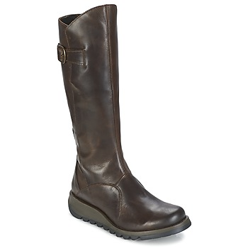 Shoes Women High boots Fly London MOL 2 Brown