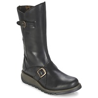 Shoes Women High boots Fly London MES2 Black