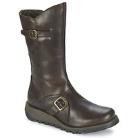 Shoes Women Mid boots Fly London MES 2 Brown