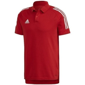 Clothing Men short-sleeved polo shirts adidas Originals Condivo 20 Red