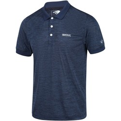 Clothing Men T-shirts & Polo shirts Regatta Remex II Jersey Polo Shirt Blue Blue