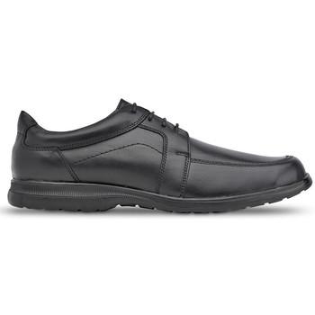 Shoes Men Derby Shoes Saguy's Comfortable Saguys work shoes for men BLACK