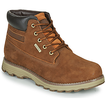 Shoes Men Mid boots Caterpillar FOUNDER WP TX Brown
