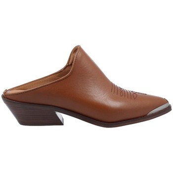 Shoes Women Mules Alpe Zuecos Tejanos Casual para Mujer de  4591 brown