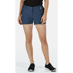 Clothing Women Shorts / Bermudas Regatta Women's Highton Walking Shorts Blue