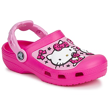 Shoes Girl Clogs Crocs HELLO KITTY CANDY RIBBONS CLOG Purple