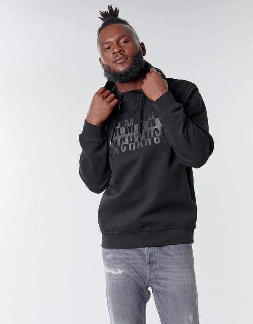Clothing Men Sweaters Armani Exchange 6HZMFK Black