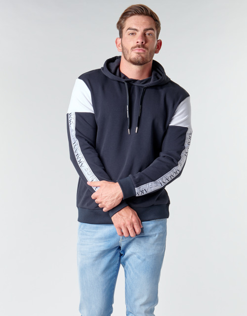 Clothing Men Sweaters Armani Exchange 6HZMFD Black / White