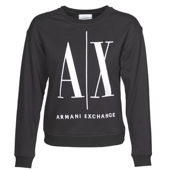 Clothing Women Sweaters Armani Exchange 8NYM02 Black