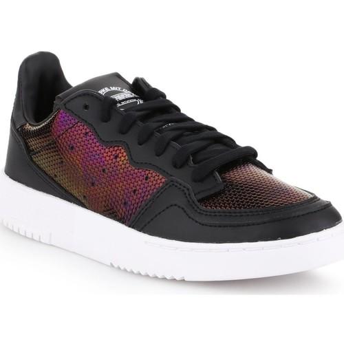 Shoes Women Low top trainers adidas Originals Adidas Supercourt W EG2012 black