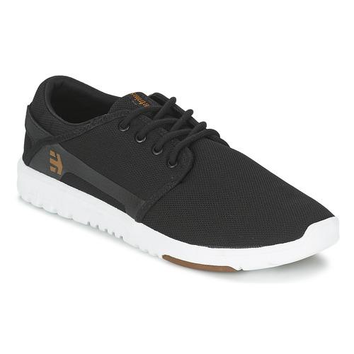 Shoes Men Low top trainers Etnies SCOUT Black / White