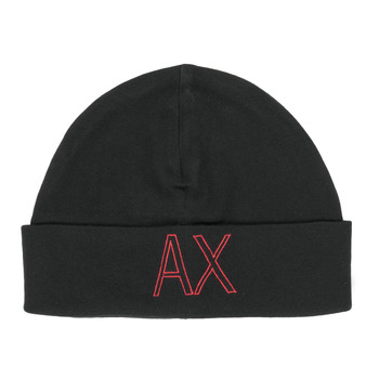 Clothes accessories Men Hats / Beanies / Bobble hats Armani Exchange 6HZ41H-ZMN4Z-1200 Black