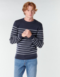 Clothing Men Jumpers Armor Lux GOULENEZ Blue