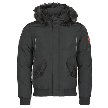 Clothing Men Parkas Deeluxe SHARK Black