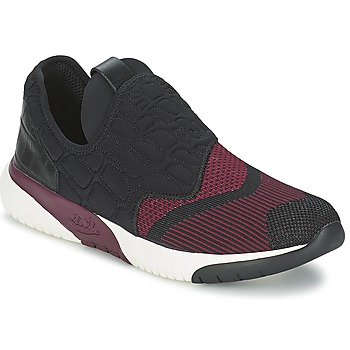 Shoes Women Low top trainers Ash SODA Black / Bordeaux