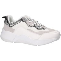 Shoes Women Low top trainers Bullboxer Bull Boxer basket blanche 077003F5S White