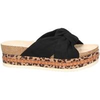 Shoes Women Sandals Bullboxer Bull Boxer sandales noire 886030F1T Black