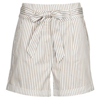 Clothing Women Shorts / Bermudas Vero Moda VMEVA White / Blue