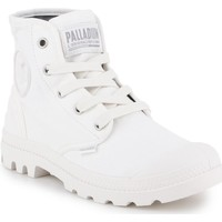 Shoes Women Hi top trainers Palladium US Pampa HI F 92352-116-M white