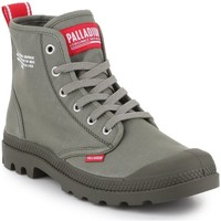 Shoes Hi top trainers Palladium Pampa HI Dare 76258-325-M olive green
