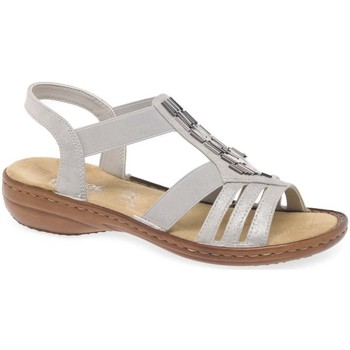 Shoes Women Sandals Rieker Nissi Womens Casual Sandals grey