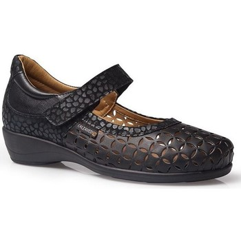 Shoes Women Flat shoes Calzamedi LETINAS  SQUARE BLACK