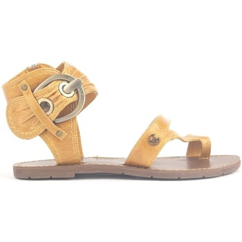 Shoes Women Sandals Chattawak Sandales 9-Pensée Yellow Yellow