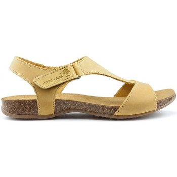 Shoes Women Sandals Interbios INTERMEDIATE ANATOMIC SANDALS 4420 YELLOW