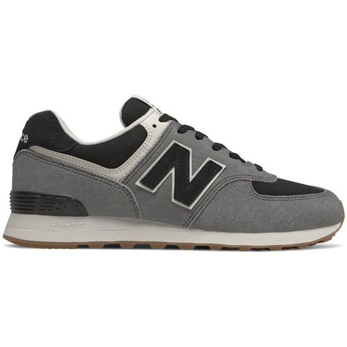 Shoes Men Low top trainers New Balance 574 White,Black,Grey