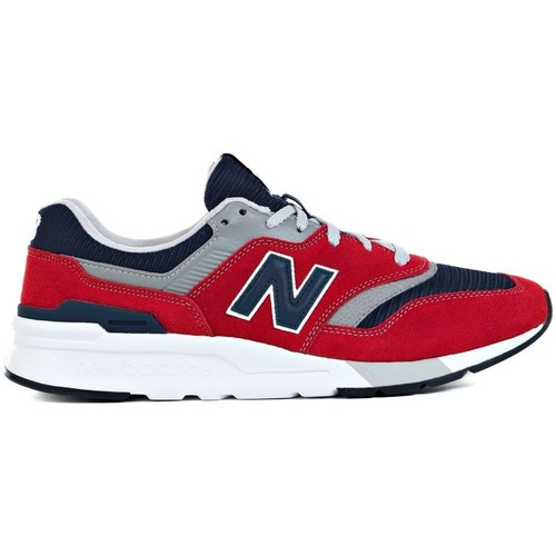 Shoes Men Low top trainers New Balance 997 Red,Grey,Navy blue