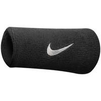 Shoe accessories Sports accessories Nike Poignets éponge  swoosh doublewide noir