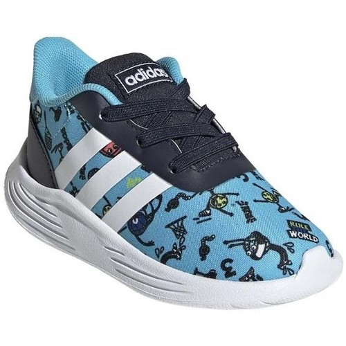 Shoes Boy Low top trainers adidas Originals Lite Racer 20 I Black,Blue