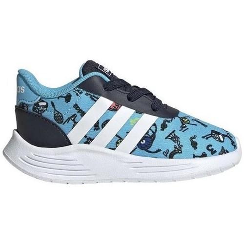 Shoes Boy Low top trainers adidas Originals Lite Racer 20 I Blue, Navy blue