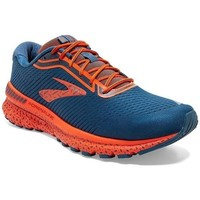Shoes Men Running shoes Brooks Adrenaline Gts 20 Orange,Navy blue