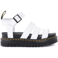 Shoes Women Sandals Dr Martens Blaire sandal in white leather White