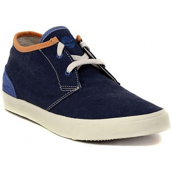 Timberland  CHUKKA BLUE  mens Shoes (Hightop Trainers) in multicolour