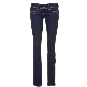 Clothing Women straight jeans Pepe jeans VENUS Blue / Raw