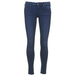 Clothing Women Cropped trousers Pepe jeans LOLA Blue / Raw