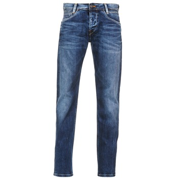 Clothing Men slim jeans Pepe jeans SPIKE Blue / Clear