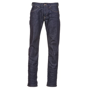 Clothing Men straight jeans Pepe jeans CASH H05 / Blue / Raw
