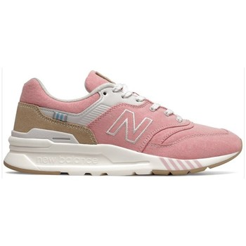 Shoes Women Low top trainers New Balance 997 White, Beige, Pink