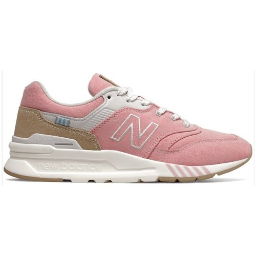 Shoes Women Low top trainers New Balance 997 White,Beige,Pink
