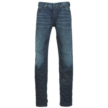 Clothing Men straight jeans Diesel BELTHER Blue