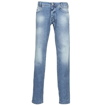 Clothing Men straight jeans Diesel IAKOP Blue / Clear