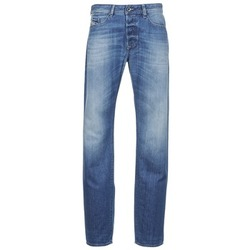 Clothing Men straight jeans Diesel BUSTER Blue / Clear