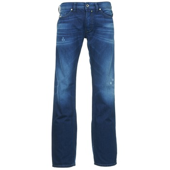 Clothing Men straight jeans Diesel SAFADO Blue / Dark