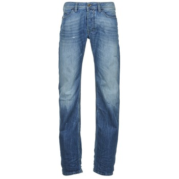 Clothing Men straight jeans Diesel SAFADO Blue / MEDIUM