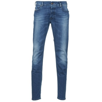 Clothing Men slim jeans Diesel SLEENKER Blue / MEDIUM