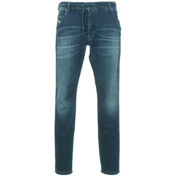 Clothing Men straight jeans Diesel KROOLEY Blue / Dark